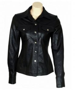 Jodie Foster The Brave One Leather Jacket   Leren Jack