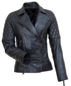 New Avril Lavigne Black leather jacket | Leren Jack