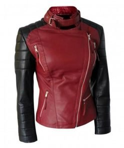 Catherine Chandler Style Beauty and The Beast Leather Jacket