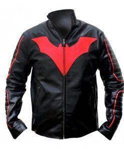 New Batman Black Biker Leather Jacket