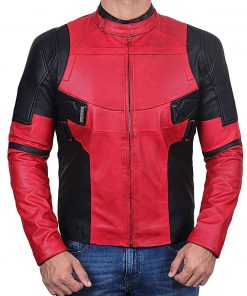 The Untitled Deadpool Sequel Leather Jacket
