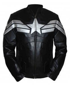First Avenger Captain America Leather Jacket