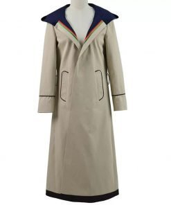 Womens 13th Doctor Who Trench Coat