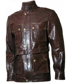 Curious Case Of Benjamin Leather Jacket