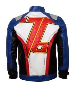 Soldier 76 Game Leather Jacket