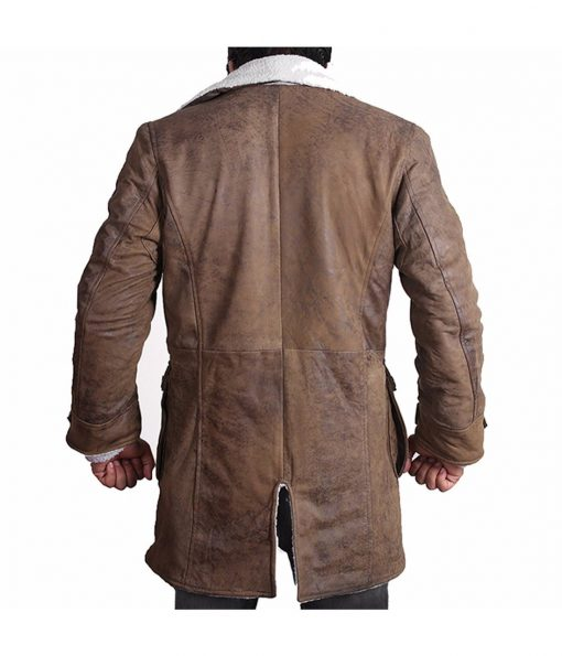The Dark Knight Rises Real Leather Bane Coat