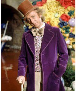 Willy Wonka & the Chocolate Factory Purple Coat
