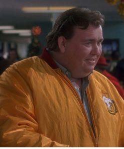 John Candy Home Alone Yellow Bomber Jacket