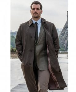 Mission Impossible Henry Cavill Fallout Trench Coat