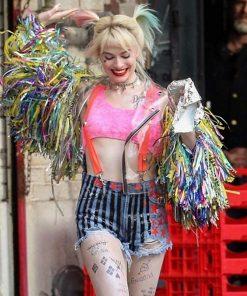 Harley Quinn Birds Of Prey Wings Jacket