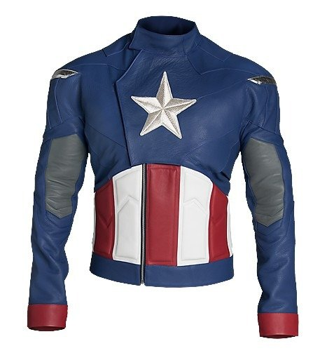 Captain America The First Avengers Steve Rogers Leather Jacket