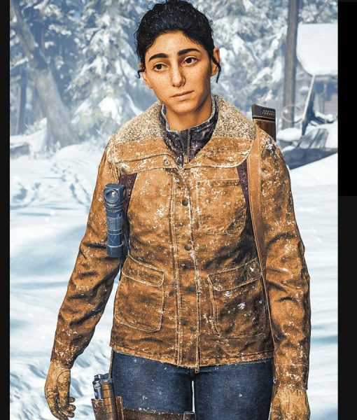 Dina The Last of Us Part II Shearling Jacket