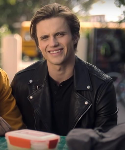 Love Victor S02 Benji Campbell Leather Jacket