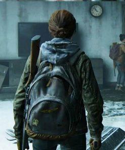 Ellie Military The Last of Us Part II Green Jacket