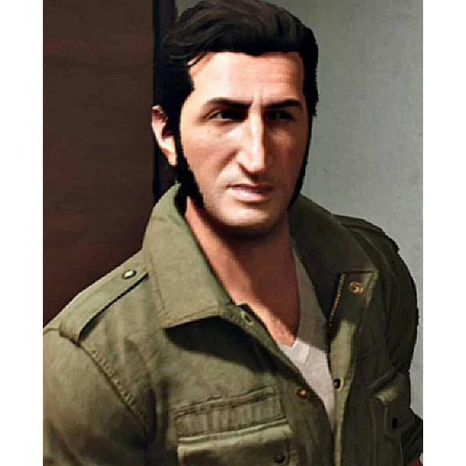 A Way Out Leo Green Leather Jacket