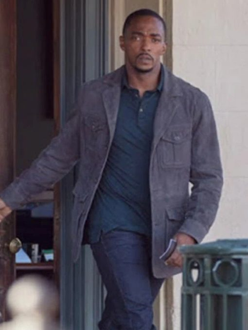 The Falcon and The Winter Soldier Anthony Mackie Cotton Jacket