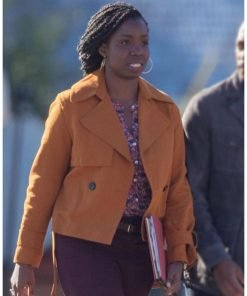 Adepero Oduye The Falcon and The Winter Soldier Orange Jacket