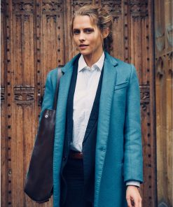 A Discovery of Witches Teresa Palmer Wool Coat