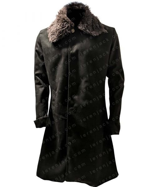 Uncle Fester Addams Family Values Wool Black Coat
