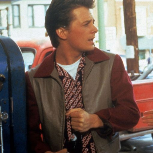 Marty Mcfly Back To The Future 50s Jacket