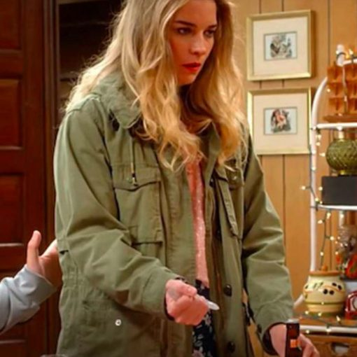 Kevin Can Fk Himself Annie Murphy Green Jacket