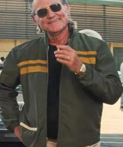 Kurt Russell Once Upon a Time In Hollywood Green Jacket