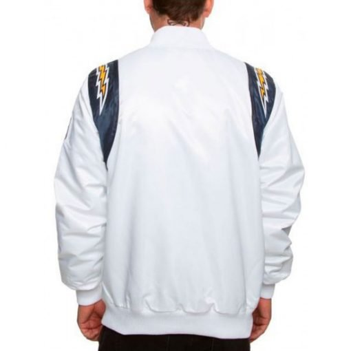Men's Chargers Los Angeles Satin Jacket