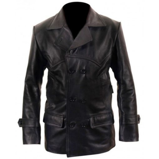 Doctor Who Ninth Doctor Who Black Leather Jacket