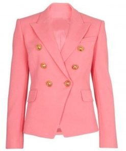 Jacqueline Macinnes Wood The Bold and The Beautiful Pink Blazer