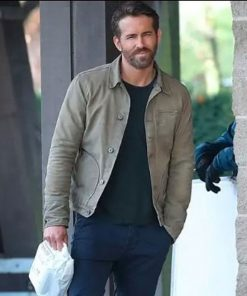 The Adam Project Ryan Reynolds Green Jacket