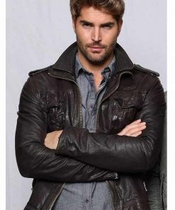 The Matchmaker's Playbook Leather Jacket