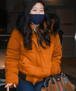 Shang-Chi And The Legend Of The Ten Rings Awkwafina Fur Jacket