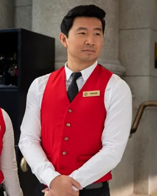 Shang-Chi and the Legend of the Ten Rings Shang-Chi Red Vest