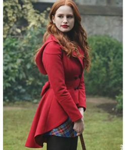 Riverdale Madelaine S3 Petsch Red Wool Frock Coat
