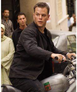The Bourne Ultimatum Matt Damon Black Jacket
