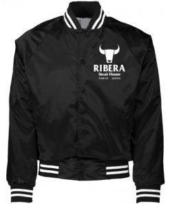 Ribera Wrestling Satin Black Jacket