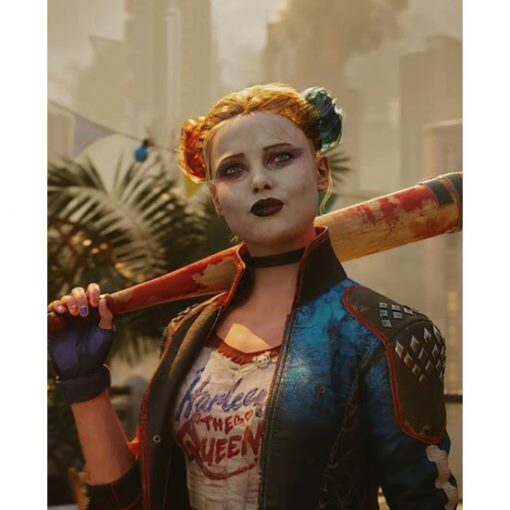 Harley Quinn Suicide Squad Kill Justice League Leather Jacket