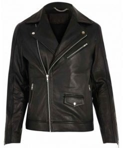 Jacob Elordi The Kissing Booth Black Leather Jacket