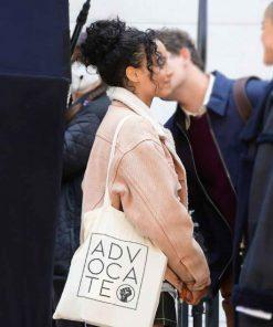Gossip Girl Zoya Lott Sherpa Denim Jacket