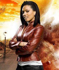 Doctor Who Martha Jones Leather Jacket