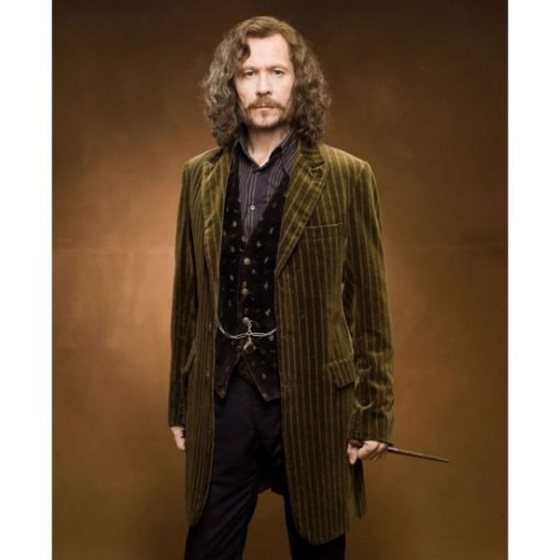 Gary Oldman Harry Potter and The Deathly Hallows Velvet Coat