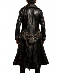 Once Upon a Time Captain Hook Black Trench Coat