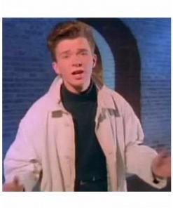 Rick Astley Cotton Trench Coat