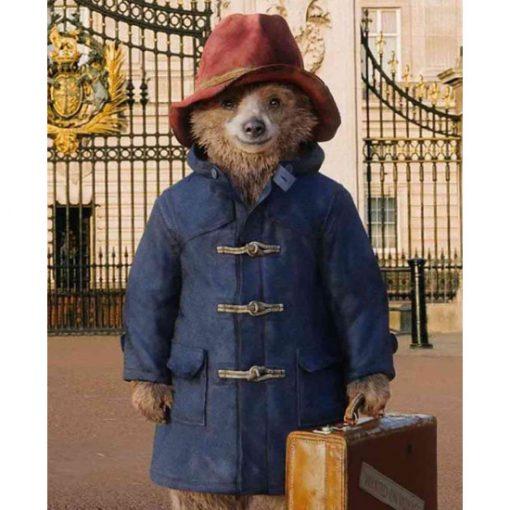 Paddington Bear Toggle Duffle Wool Coat